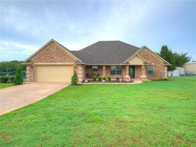 Blanchard OK Single Family Home For Sale: $230,000