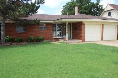 Moore Single Family Home For Sale: 1011 Highlander Drive