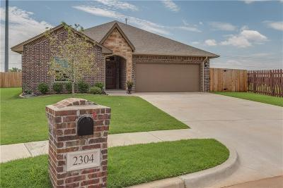 Edmond Single Family Home For Sale: 2304 NW 193rd Street
