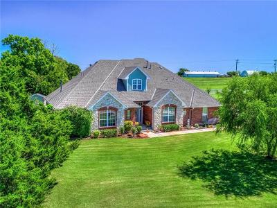 Mustang Single Family Home For Sale: 10512 Crystal Creek Drive