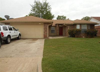 Midwest City OK Single Family Home For Sale: $137,900