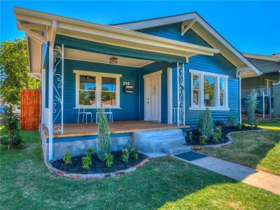 Oklahoma City Single Family Home For Sale: 214 NW 25th