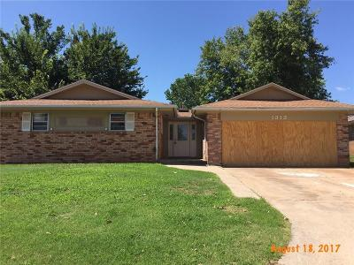 Yukon Single Family Home For Sale: 1313 Kingston Drive