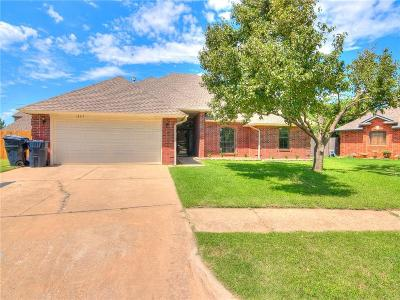 Edmond Single Family Home For Sale: 18517 Chestnut Oak Drive