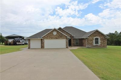 Blanchard OK Single Family Home For Sale: $269,500