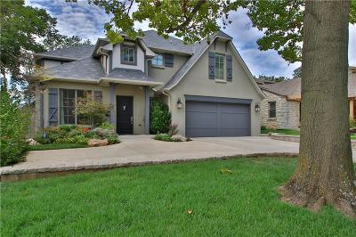 Nichols Hills OK Single Family Home For Sale: $1,200,000