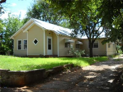 Sayre Single Family Home For Sale: 310 W Elm