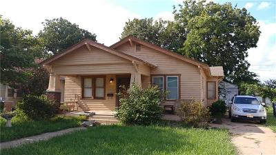 Oklahoma City Single Family Home For Sale: 1423 NW 44th Street