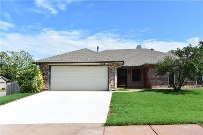 Edmond Single Family Home For Sale: 1100 Briar Bend Trail