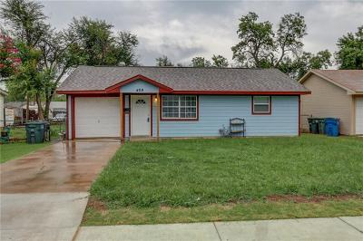 Edmond Single Family Home For Sale: 409 W Main Street