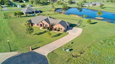 Blanchard OK Single Family Home For Sale: $259,900