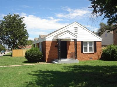 Oklahoma City Single Family Home For Sale: 2445 Cashion Place