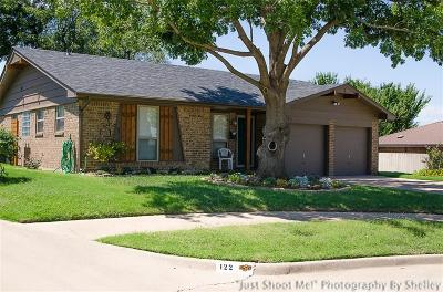 Chickasha Single Family Home For Sale: 120 S 9th Street Circle Circle