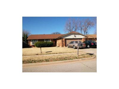 Oklahoma City Single Family Home For Sale: 5113 Oak Manor Drive