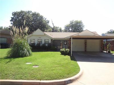 Oklahoma City Single Family Home For Sale: 6325 S Dewey