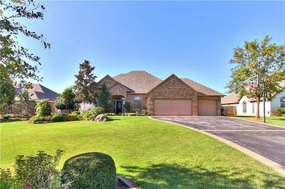 Edmond Single Family Home For Sale: 1000 Hunters Pointe Road