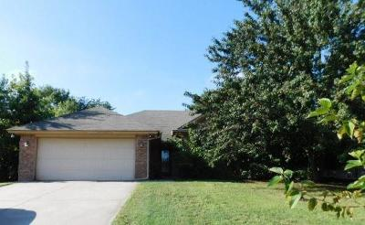 Harrah Single Family Home For Sale: 20566 Ember Lane
