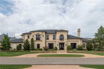 Oklahoma City OK Single Family Home For Sale: $1,975,000