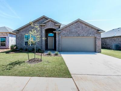 Mustang Single Family Home For Sale: 3412 Sadie Drive