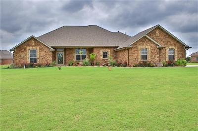 Tuttle Single Family Home For Sale: 7512 Colton Lane