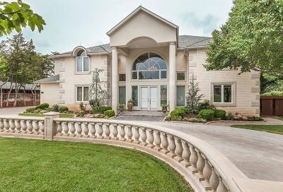 Nichols Hills OK Single Family Home For Sale: $1,975,000