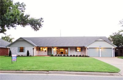 Oklahoma City Single Family Home For Sale: 8901 Lakehurst Drive