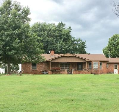 Chickasha Single Family Home For Sale: 1665 County Road 1380