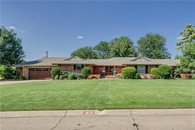 Nichols Hills OK Single Family Home For Sale: $899,000
