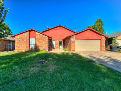Yukon OK Single Family Home For Sale: $154,900