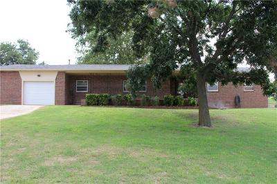 Choctaw Single Family Home For Sale: 100 Bobby Mankin