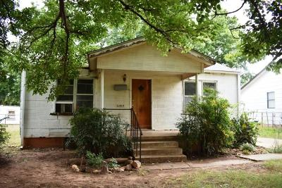 Chickasha Single Family Home For Sale: 1105 S 19th
