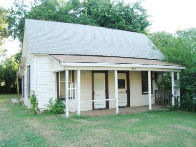 Chickasha Single Family Home For Sale: 924 S 5th Street