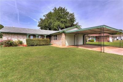 Del City OK Single Family Home For Sale: $115,000