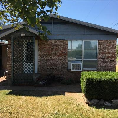 Binger Single Family Home For Sale: 626 Oak