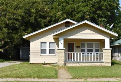 Chickasha Single Family Home For Sale: 926 S 16th Street