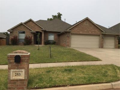 Mustang Single Family Home For Sale: 253 E Atlanta Terrace