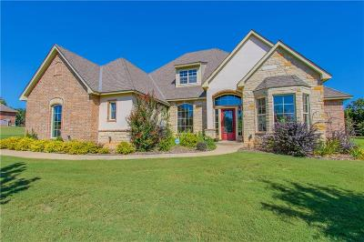 Edmond Single Family Home For Sale: 6416 Stone Hill