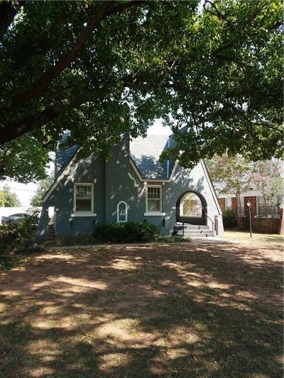 Chickasha Single Family Home For Sale: 1628 W Chickasha Avenue