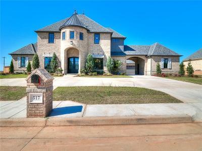 Edmond Single Family Home For Sale: 517 Oak Summit Road