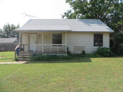 Chickasha Single Family Home For Sale: 1813 California Avenue