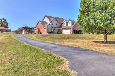Harrah Single Family Home For Sale: 3901 Woodmark