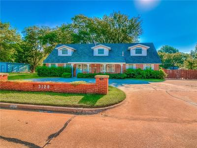 Oklahoma County Single Family Home For Sale: 3128 Del View