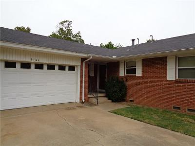 Norman Single Family Home For Sale: 1721 Marian Drive