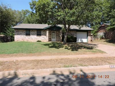 Noble Single Family Home For Sale: 505 Willis