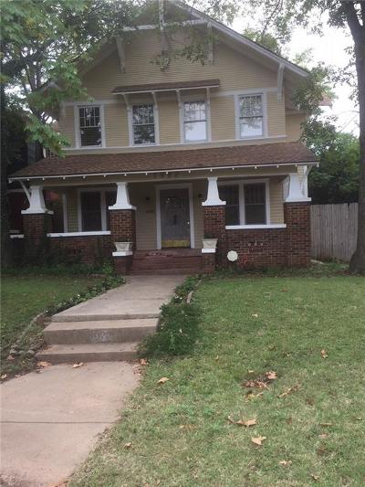 Oklahoma City Single Family Home For Sale: 1022 NW 17th Street