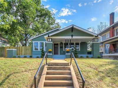 Oklahoma City Single Family Home For Sale: 1012 NW 21st Street