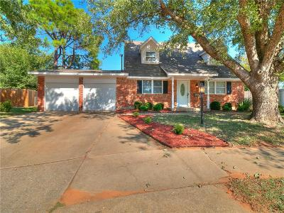 Mustang Single Family Home For Sale: 331 W Cedar Drive