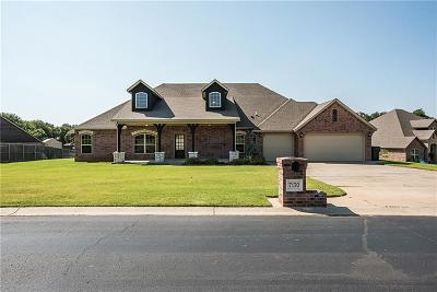 Edmond Single Family Home For Sale: 7130 Ashley Trail