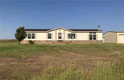 Sayre Single Family Home For Sale: 18760 E 1170