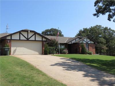 Edmond Single Family Home For Sale: 6604 Applewood Drive